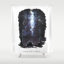 I Never Fell For You; You Tripped Me Shower Curtain