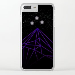 The Night Court Mountains Clear iPhone Case