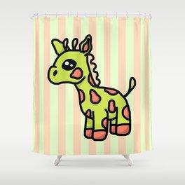 Guaraffe Shower Curtain