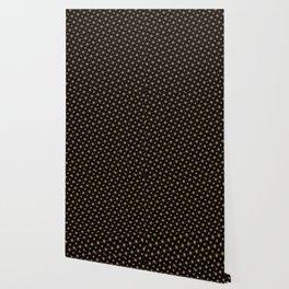Glowing stars mandala pattern Wallpaper