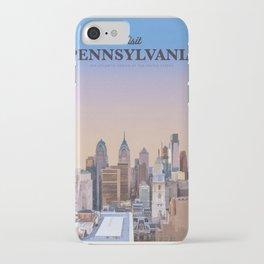 Visit Pennsylvania iPhone Case