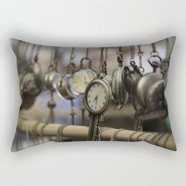 time pieces Rectangular Pillow