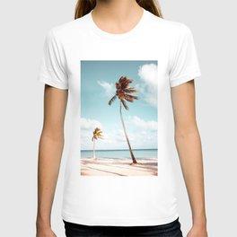 Dominican Republic Palm Beach T-shirt