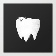 Molar Bear Canvas Print