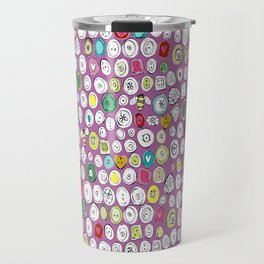 buttons and bees Travel Mug