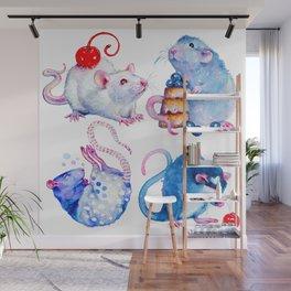 Sweet Rats Wall Mural