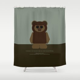 Ewoks! Shower Curtain