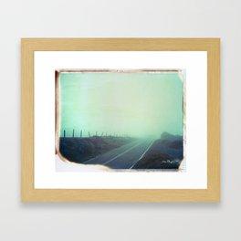 highway 1 Framed Art Print