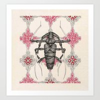 beetle Art Prints featuring Beetle by Cullinan Les