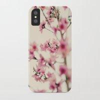 sakura iPhone & iPod Cases featuring Sakura by Laura Ruth