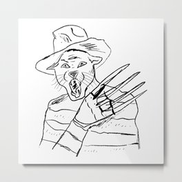 Freddy Cougar Metal Print