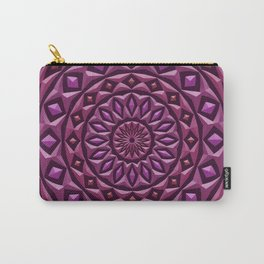 Carved in Stone Mandala Carry-All Pouch