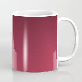 Black, red Ombre. Coffee Mug