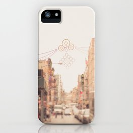 Morning in Chinatown iPhone Case