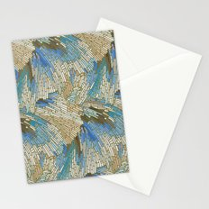 Abstract Sea Shells Stationery Cards
