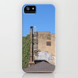 Cayuga St. looking West iPhone Case