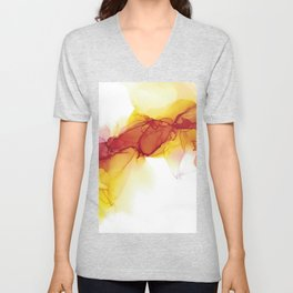 Flow and fire Unisex V-Neck