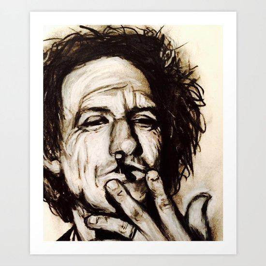 """Richards"" Art Print"