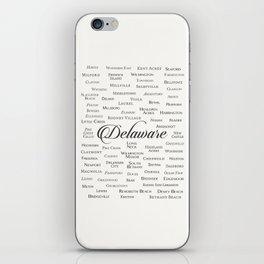 Delaware iPhone Skin