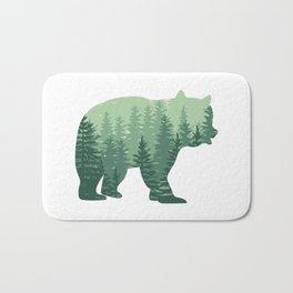 Forest Bear Bath Mat