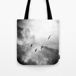"""Birds of a Feather"" Holga Double Exposure in San Diego, California Tote Bag"