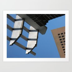 Sky Grids Art Print