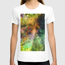 ink in wood T-shirt