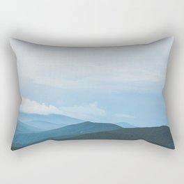 Blue Ridge Mountain Magick Digital Nature Landscape Photography Rectangular Pillow