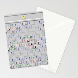 Mine Finder Game Stationery Cards