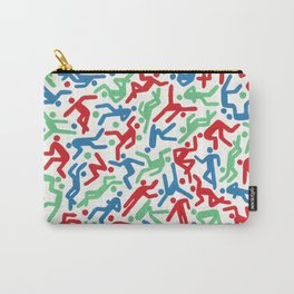 Action Man by nettie Heron-Middleton Carry-All Pouch