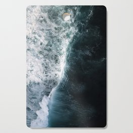 Oceanscape - White and Blue Cutting Board