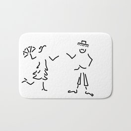 Spaniard Spaniard flamenco Andalusia Bath Mat