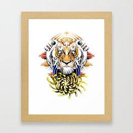 Keep Fierce II Framed Art Print