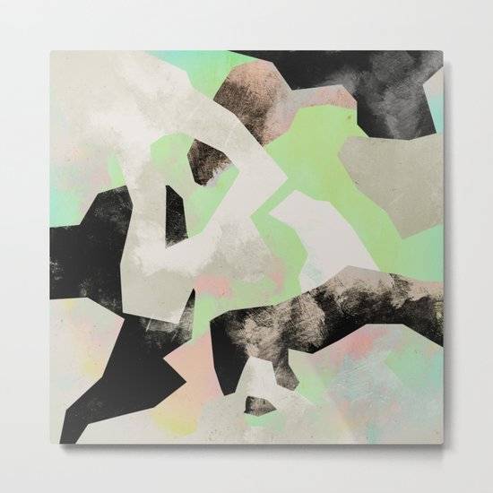 Camouflage VII Metal Print
