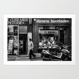 Satelis (Montmartre; Paris) Art Print