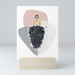 Lights! Camera! Fashion! Mini Art Print