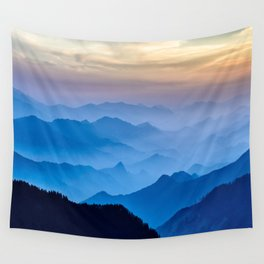 Mountains 11 Wall Tapestry