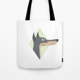 Dog Series: The Doby Tote Bag