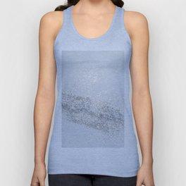 Silver Gray Glitter #3 #shiny #decor #art #society6 Unisex Tank Top