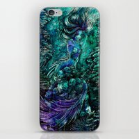 siren iPhone & iPod Skins featuring Siren by Nemeth Alina
