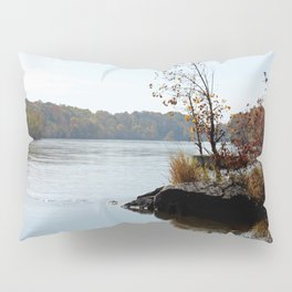 Fall on the River Bank Pillow Sham