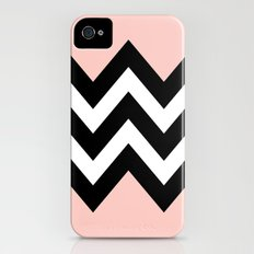 DOUBLE COLORBLOCK CHEVRON {PEACH/PEACH} Slim Case iPhone (4, 4s)
