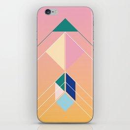 Tangram Arrow Three iPhone Skin