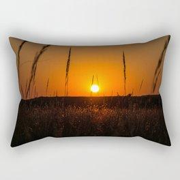 North Dakota Sunset Rectangular Pillow