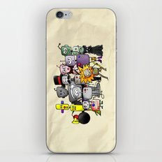 Time is a Circus iPhone & iPod Skin