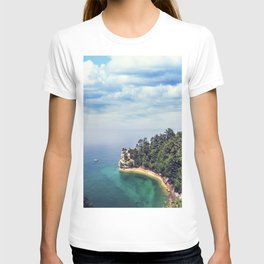 Miners Castle rock formation T-shirt