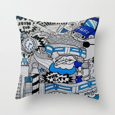 Livin' For The City Throw Pillow