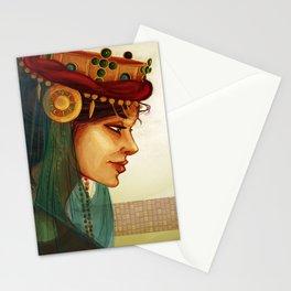 Sibylla, Queen of Jerusalem Stationery Cards