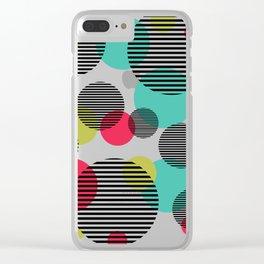 Super dots Clear iPhone Case
