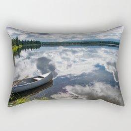 Tranquility At Its Best - Alaska Rectangular Pillow